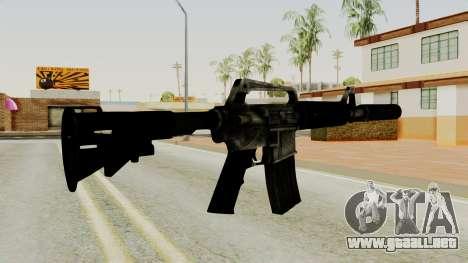 M4A1-S Basilisk para GTA San Andreas segunda pantalla