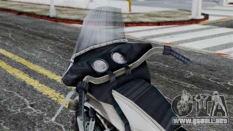 Bike Cop from Bully para la visión correcta GTA San Andreas