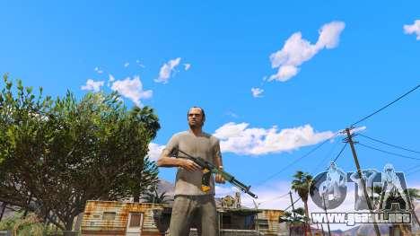 GTA 5 El AEK-971 из Battlefield 4 segunda captura de pantalla