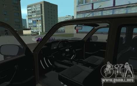 VAZ 21213 Niva para GTA San Andreas vista hacia atrás