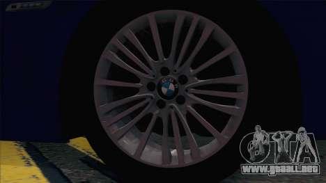 BMW 520 Comité de Investigación para GTA San Andreas vista hacia atrás
