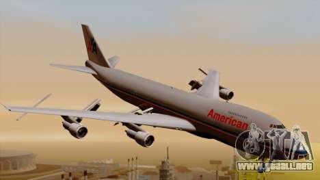 Boeing 747-100 American Airlines para GTA San Andreas