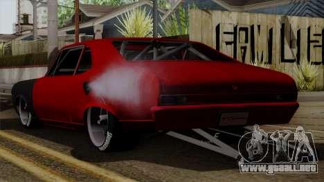 Chevrolet Nova SS para GTA San Andreas left