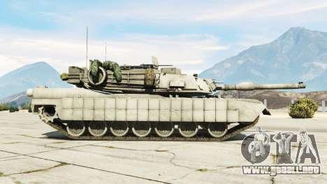 GTA 5 M1A2 Abrams v1.1 vista lateral izquierda