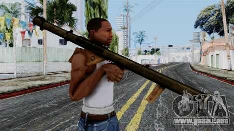 Bazooka from Battlefield 1942 para GTA San Andreas tercera pantalla