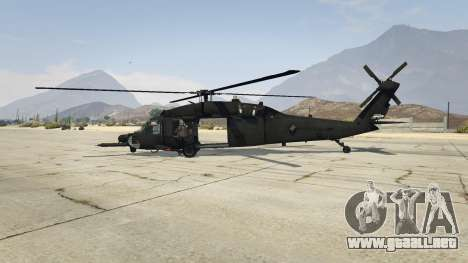 GTA 5 MH-60L Black Hawk segunda captura de pantalla