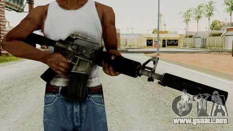 M4A1-S Basilisk para GTA San Andreas tercera pantalla