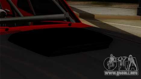 Chevrolet Nova SS para GTA San Andreas vista hacia atrás