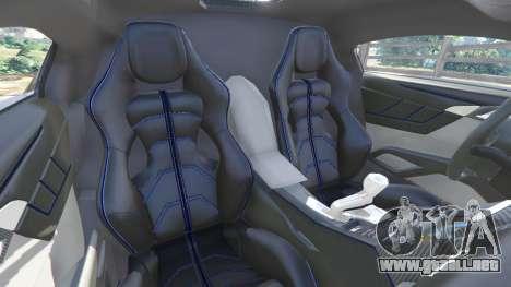 GTA 5 Lykan HyperSport 2014 delantero derecho vista lateral