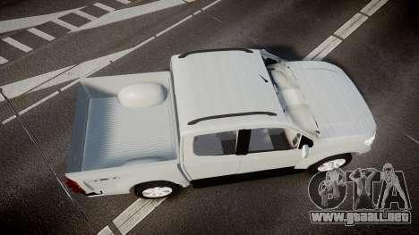 Chevrolet S10 LTZ 2014 v0.1 para GTA 4 visión correcta