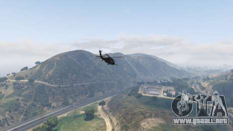 GTA 5 MH-60L Black Hawk octavo captura de pantalla