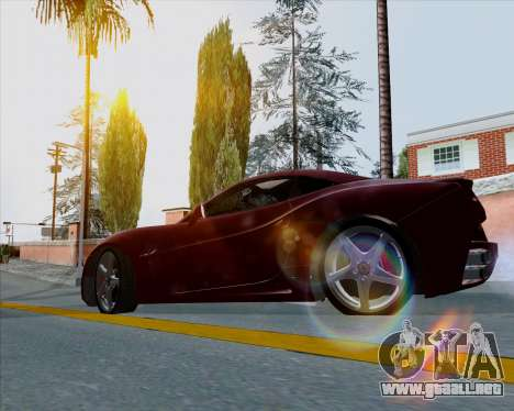 Vitesse ENB V1.1 Low PC para GTA San Andreas tercera pantalla