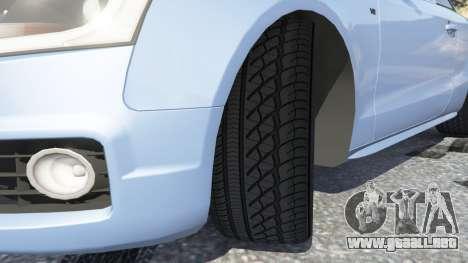 GTA 5 Audi S5 Coupe vista lateral derecha