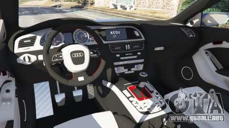 GTA 5 Audi S5 Coupe delantero derecho vista lateral