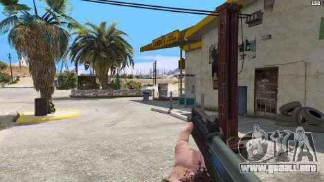 GTA 5 SAIGA de Battlefield 4 tercera captura de pantalla