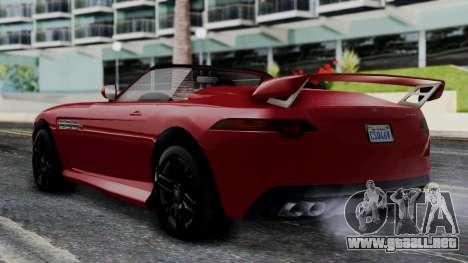 GTA 5 Benefactor Surano v2 IVF para GTA San Andreas left