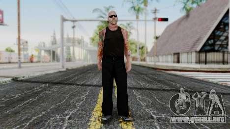 Alice Baker Old Member para GTA San Andreas segunda pantalla