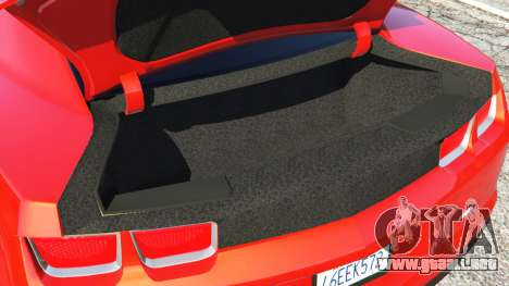 GTA 5 Chevrolet Camaro SS 2010 [Beta] volante