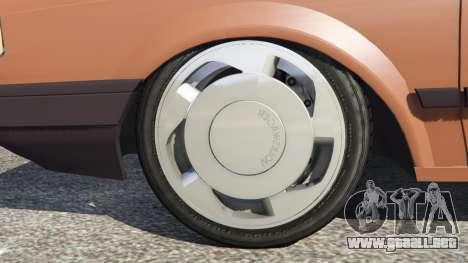 Volkswagen Saveiro Cli 1.6 [Edit] para GTA 5