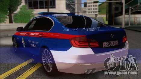 BMW 520 Comité de Investigación para GTA San Andreas left