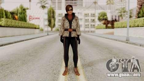 DOA 5 Lisa Hamilton Fashion para GTA San Andreas segunda pantalla