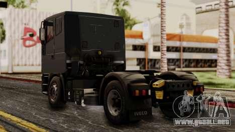 Iveco EuroStar Low Cab para GTA San Andreas left