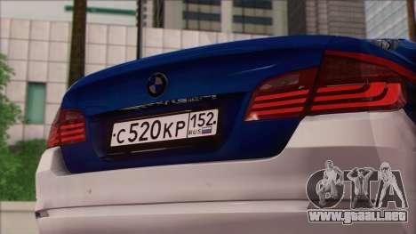 BMW 520 Comité de Investigación para la visión correcta GTA San Andreas