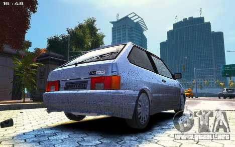 VAZ 2113 para GTA 4 Vista posterior izquierda