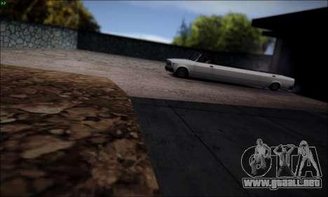 VAZ 2107 limusina para GTA San Andreas left