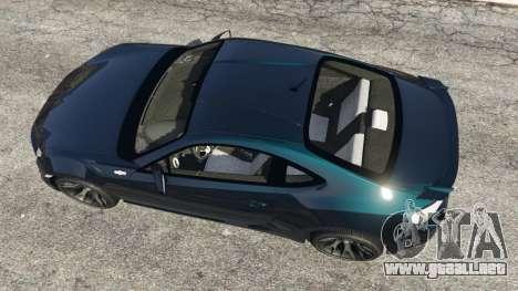 GTA 5 Toyota GT-86 v1.1 vista trasera