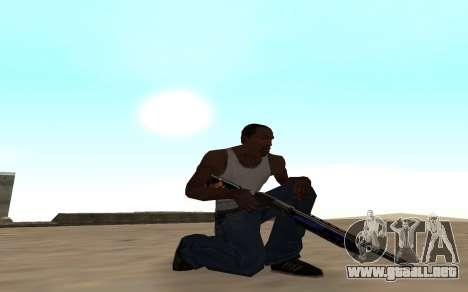 Escopeta con un cachorro de tigre para GTA San Andreas