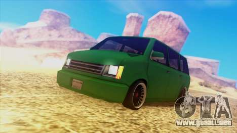 Fantastic ENB para GTA San Andreas segunda pantalla