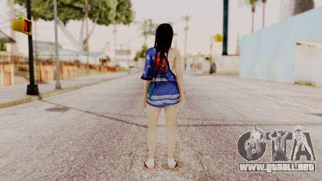DOA 5 Kokoro DLC para GTA San Andreas tercera pantalla