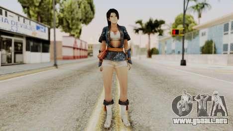 DOA 5 Momiji para GTA San Andreas segunda pantalla