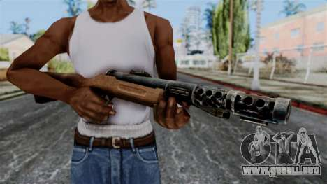 MP18 from Battlefield 1942 para GTA San Andreas tercera pantalla