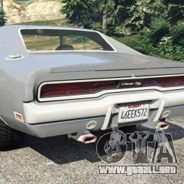 Dodge Charger Rt Se 440 Magnum 1970 Para Gta 5 Dodge Charger Para Colorir