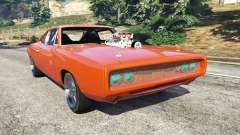 Dodge Charger 1970 Fast & Furious 7 para GTA 5