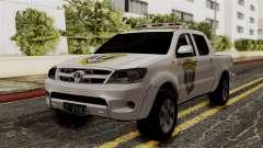 Toyota Hilux CICPC 2007 para GTA San Andreas