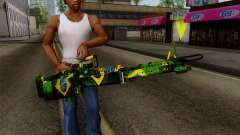 Brasileiro Minigun v2 para GTA San Andreas