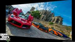Supercars Loading Screens para GTA 5