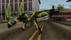 Brasileiro MP5 v2 para GTA San Andreas