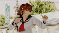 DOA 5 Kasumi School Girl para GTA San Andreas