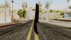 Nuevo cuchillo ensangrentado