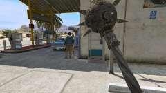 Acero Maza de TES IV Oblivion para GTA 5