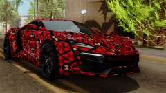 Lykan Hypersport Batik