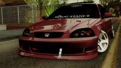 Honda Civic Hatchback B. O. De La Construcción para GTA San Andreas