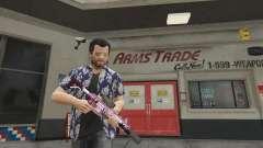 Anime mosquetón para GTA 5