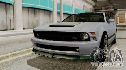 GTA 5 Vapid Dominator SA Style para GTA San Andreas