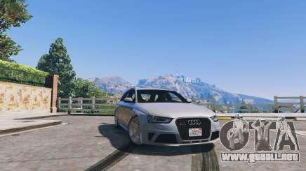 Audi RS4 Avant v1.1 para GTA 5