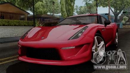 Grotti Carbonizzare FF para GTA San Andreas